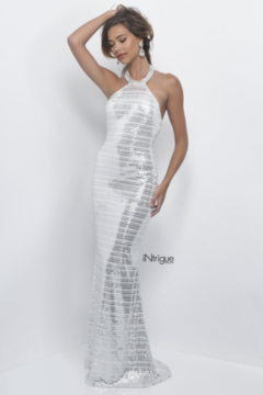 Intrigue 276 - Novelty Sequin Gown - Product List Image