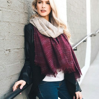 Unknown Factory Ombré Scarf - Instagram Image