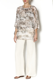 Julian Chang Snake Print Tunic - Front full body