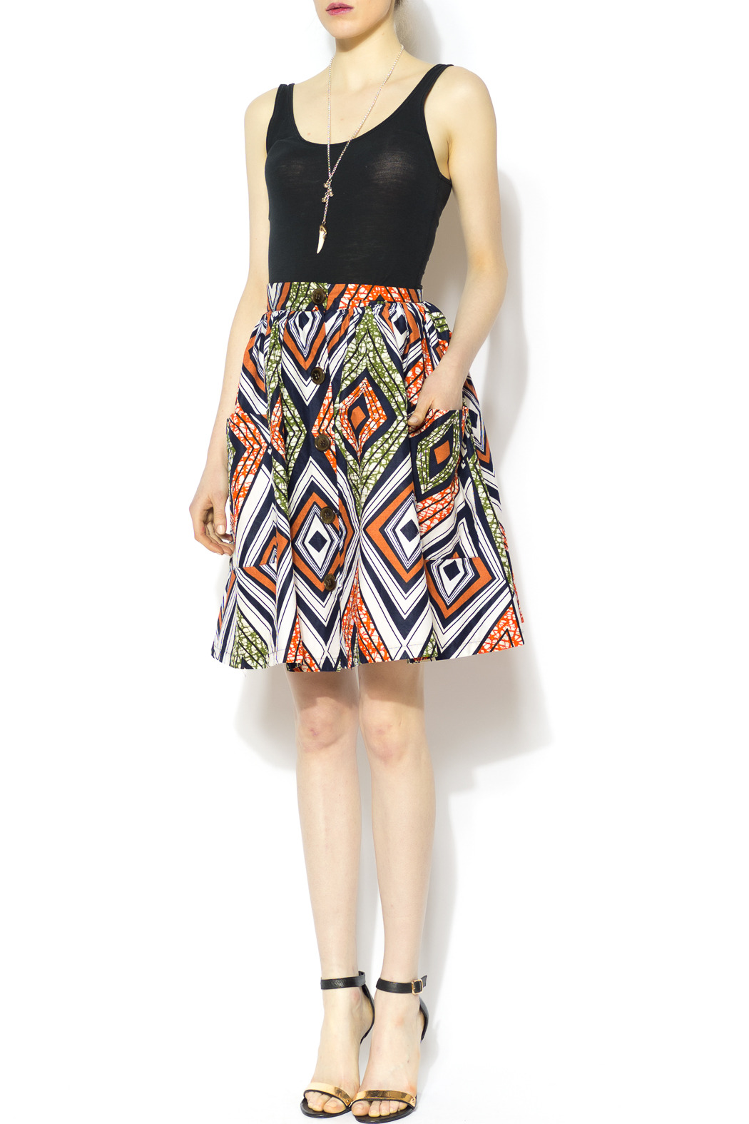 Royal Jelly Harlem Diamond Serafina Skirt - Front Full Image