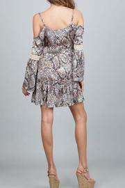 Ark & Co. Open Shoulder Dress - Front full body