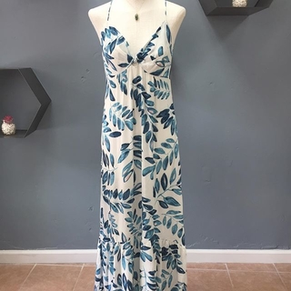 Knot Front Maxi Dress - Instagram Image