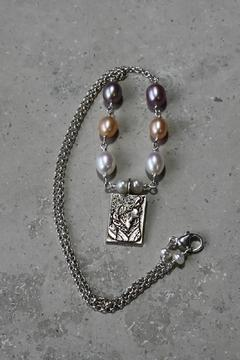 Lily Chartier Pearls Sterling Cameo Necklace - Product List Image