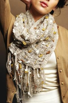 2 Chic Decorative Yarn Scarf - Product List Image