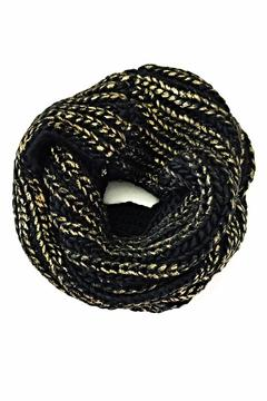 2 Chic Metallic Infinity Scarf - Product List Image
