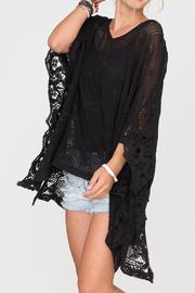 2 Chic Soft Lace Poncho - Product Mini Image