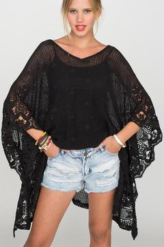 2 Chic Soft Lace Poncho - Alternate List Image