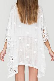 2 Chic Soft Lace Poncho - Side cropped