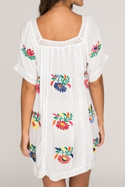 2 Chic Luxe Colorful Embroidered Sundress - Side cropped