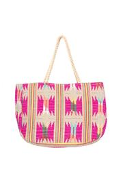 2 chic luxe by Muche et Muchette Pink Beach Tote - Product Mini Image