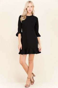 2 Hearts Black Ruffle Dress - Alternate List Image