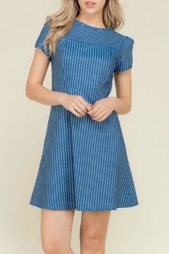 2 Hearts Katie Denim Dress - Product List Image