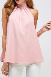 2 Hearts Light Pink Blouse - Product Mini Image