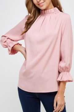 Shoptiques Product: Mock-Neck Blouse