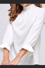 2 Hearts Ruffled Perfection Top - Front cropped
