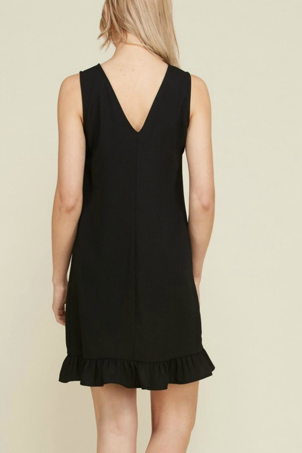 2 Hearts Trina Black Dress - Front Full Image