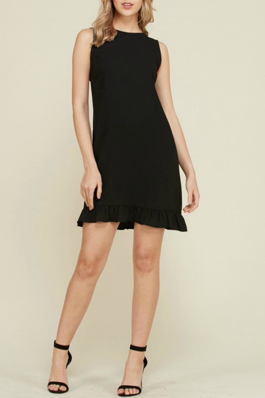 2 Hearts Trina Black Dress - Side Cropped Image