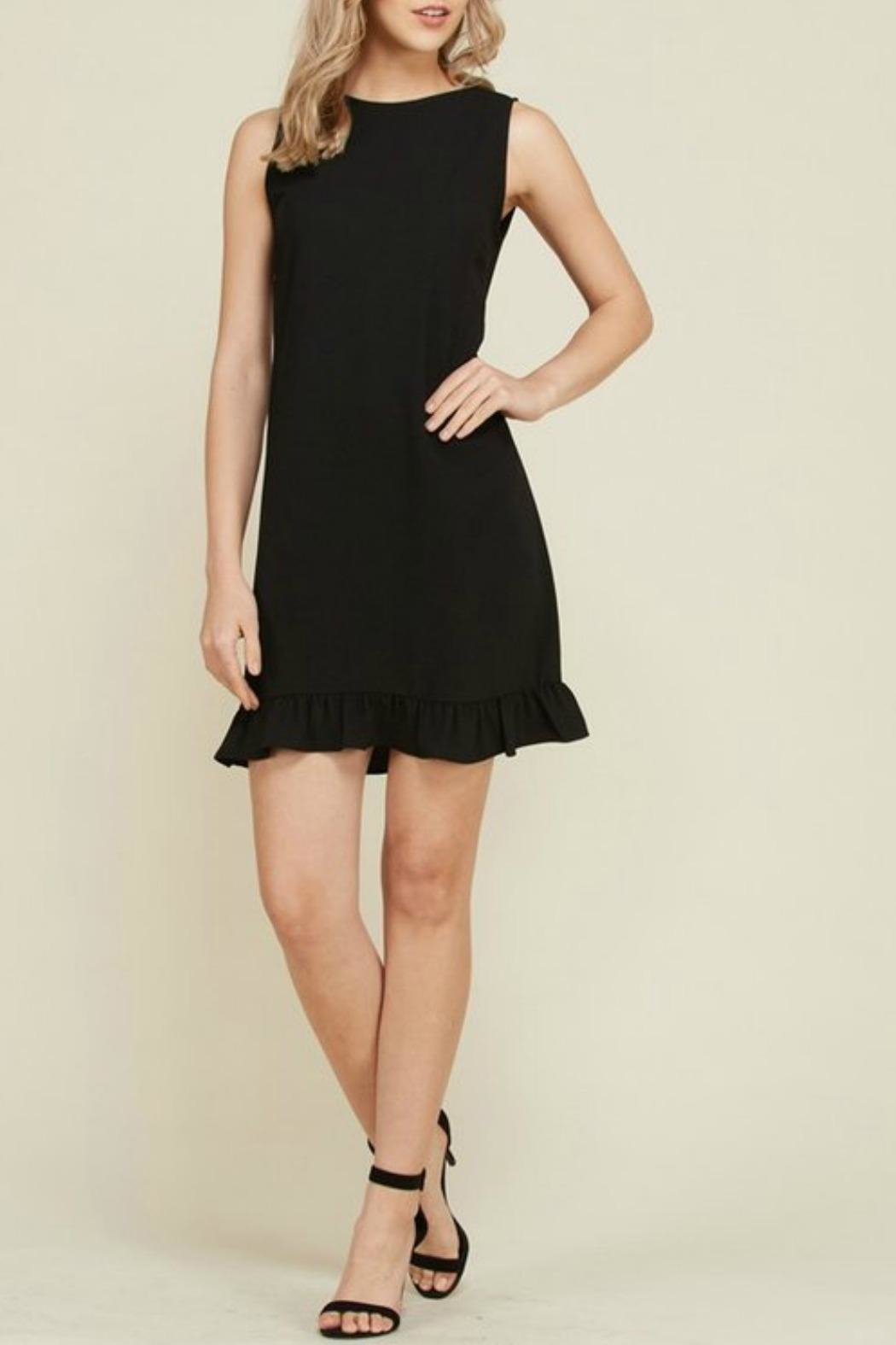 2 Hearts Trina Black Dress - Main Image