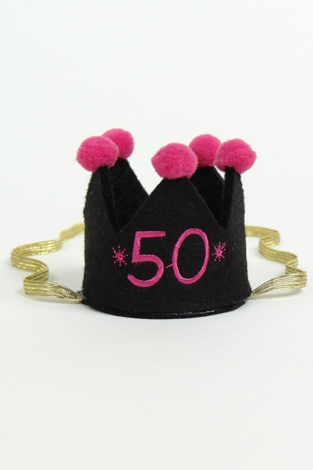 Mud Pie 50th Birthday Crown - Front Cropped Image
