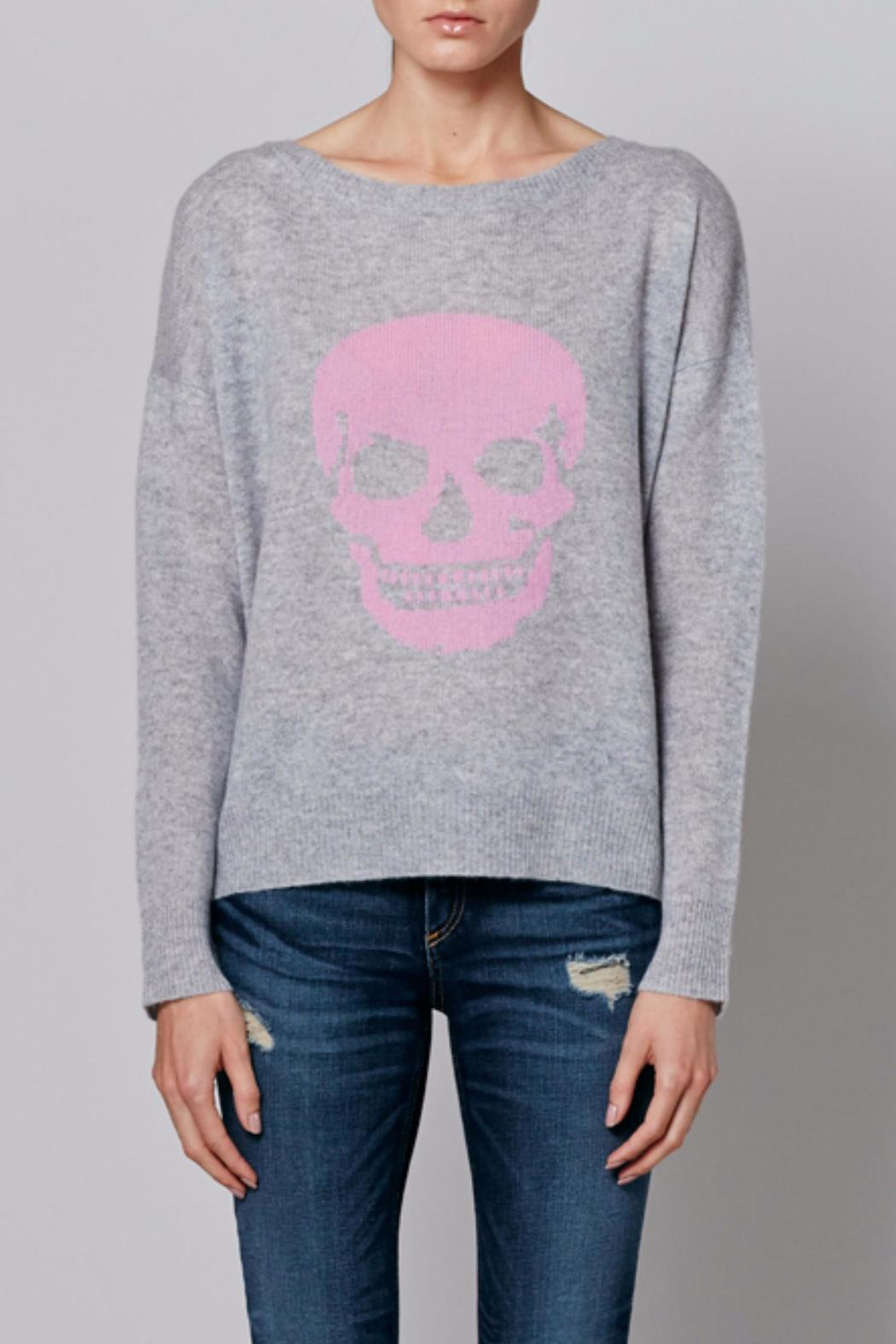 360 Skull Cashmere Pink Skull Sweater from Massachusetts by ...