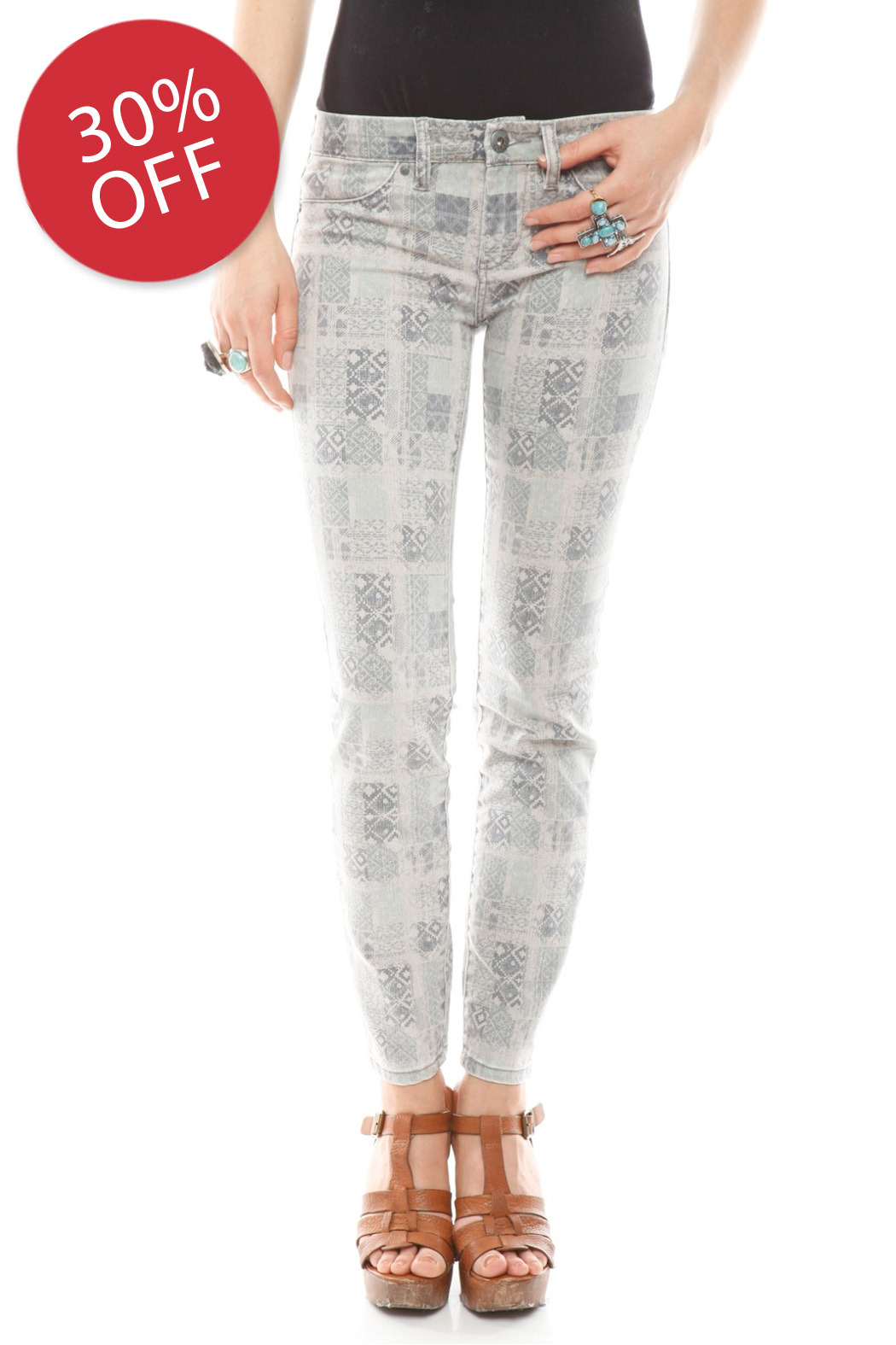 BlankNYC Ankle Moroccan Jeans - Main Image