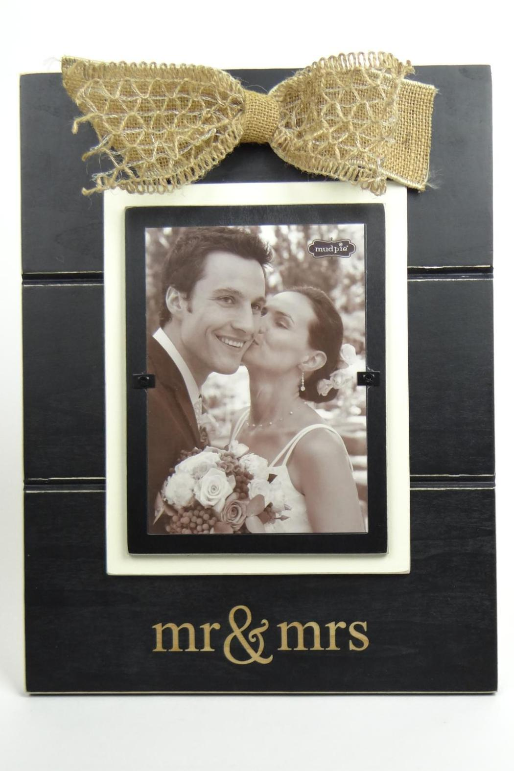 mud pie mr mrs frame front cropped image - Mr And Mrs Frame