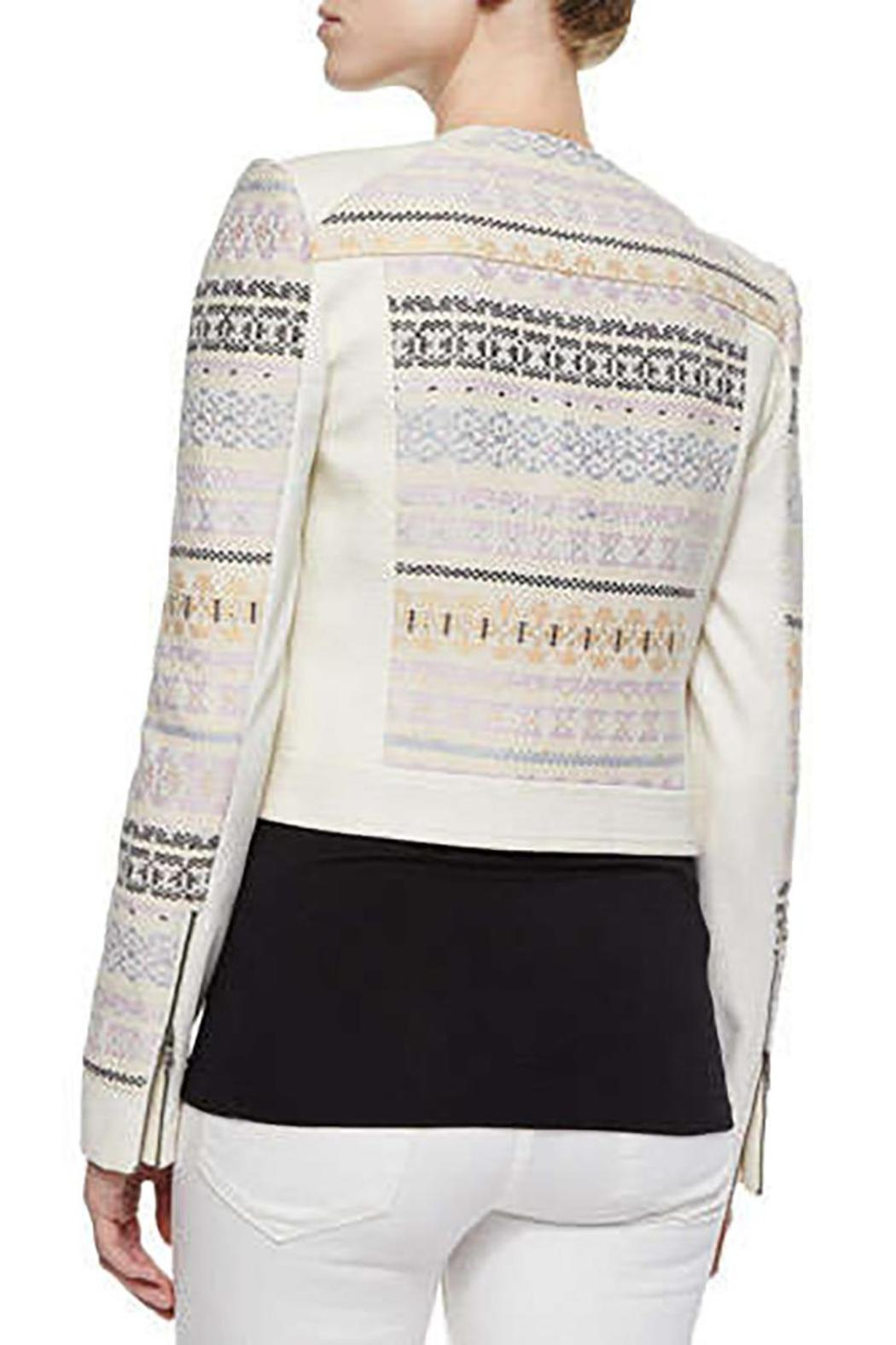 BCBG Max Azria Cody Embroidered Jacket - Front Full Image