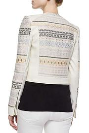 BCBG Max Azria Cody Embroidered Jacket - Front full body