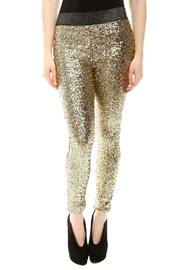 Shoptiques Product: Sequin Leggings - Front cropped