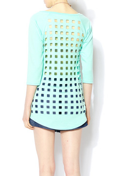 R Rouge Checkered Mint Top - Alternate List Image