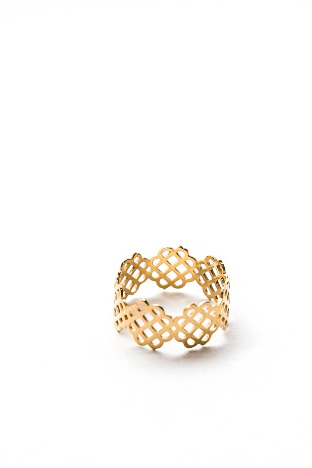 Millie Jewelry Millie Infinity Ring - Front Full Image