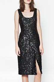 French Connection Cosmic Sparkle Dress - Front cropped