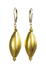 Melinda Lawton Jewelry Gold Vermeil Earrings - Product Mini Image