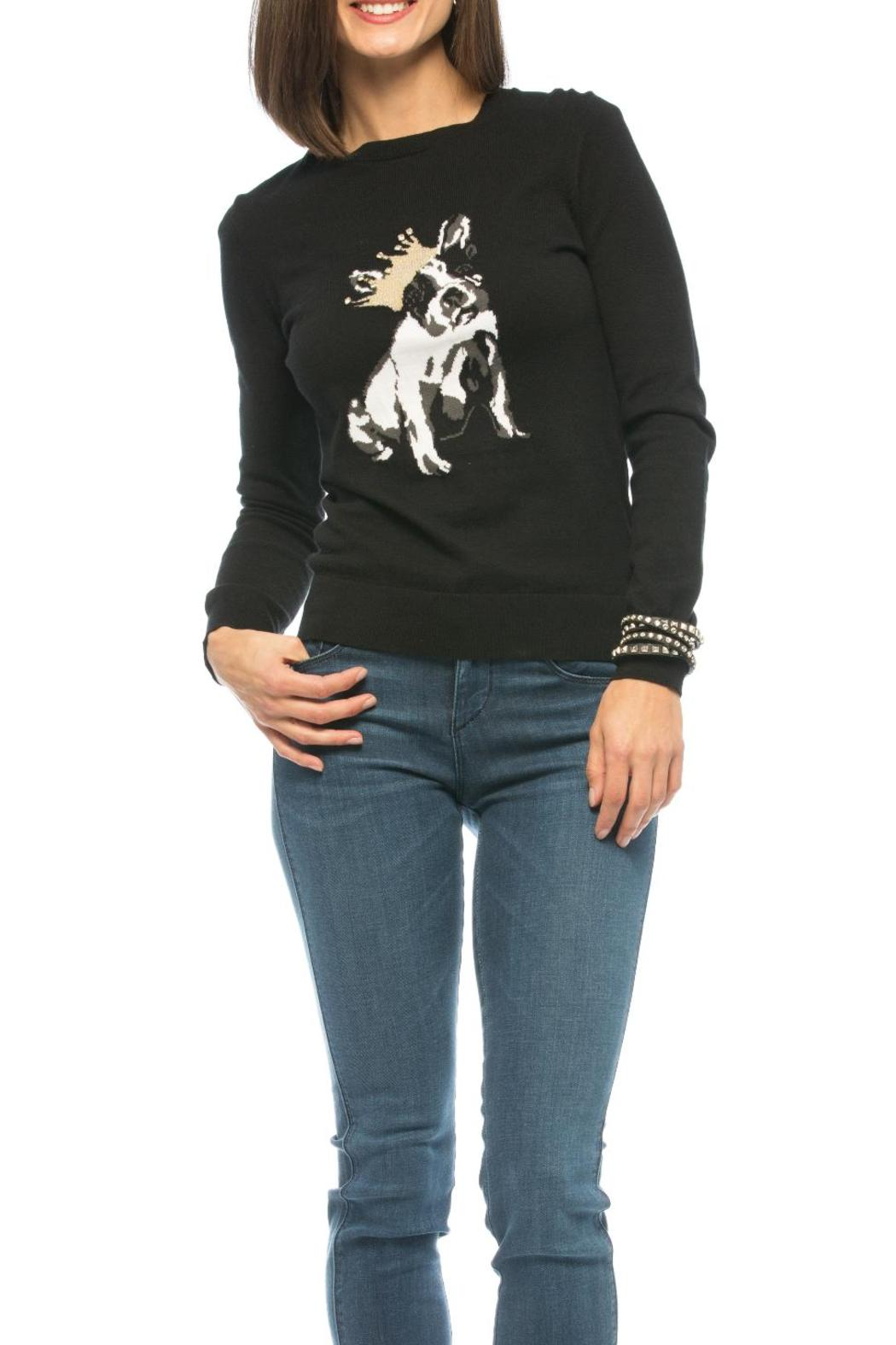 2c7620435141 Ted Baker Dog Illustrated Sweater from Oklahoma by LIBERTÉ — Shoptiques