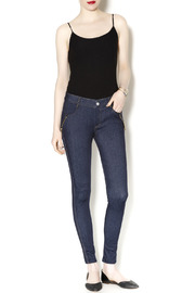 Yelete Indigo Jeggings - Front full body