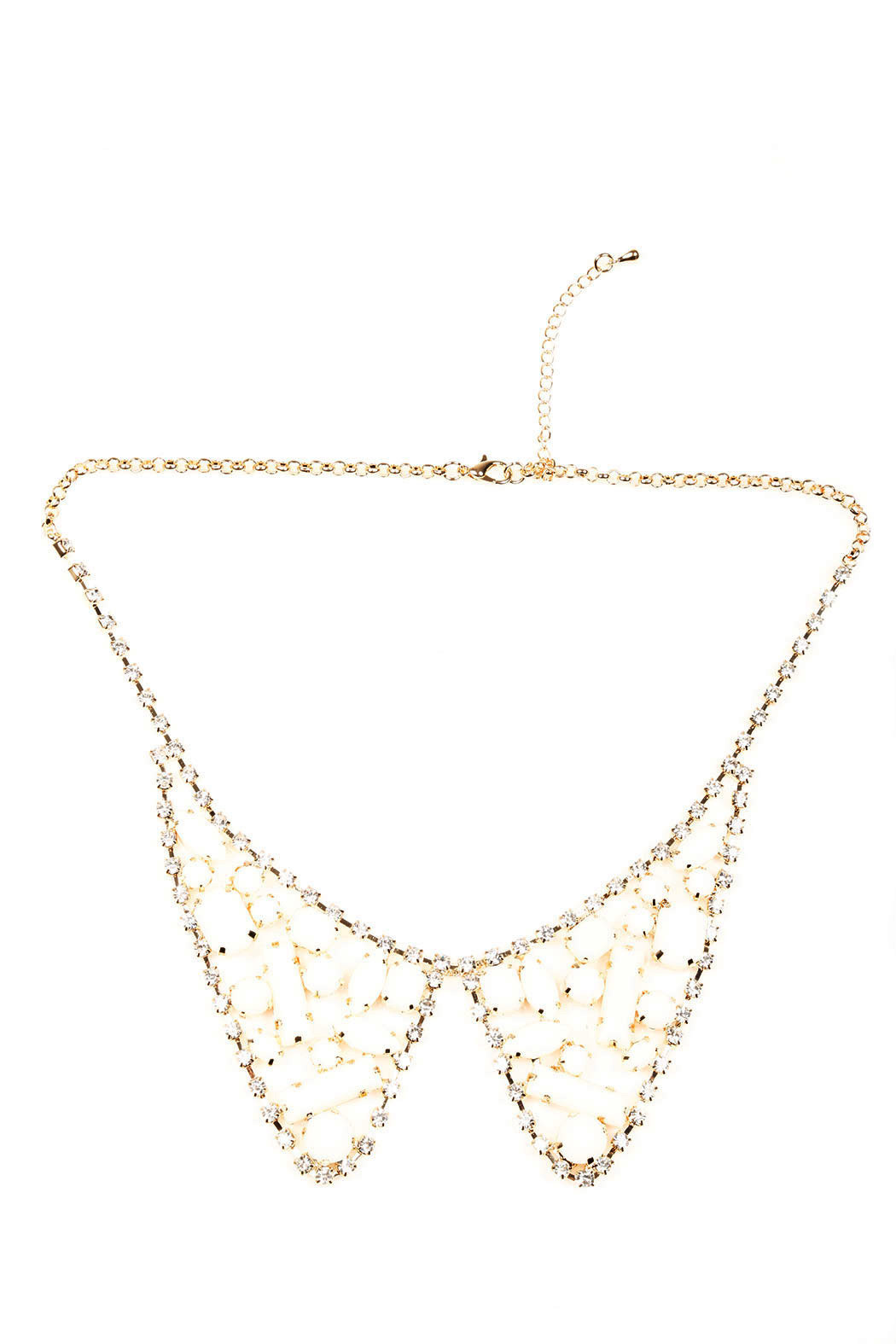 Ame Ame Collar Necklace - Front Cropped Image