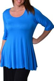 24/7 Comfort Apparel Plus-Size Elbow-Sleeve Tunic - Product Mini Image