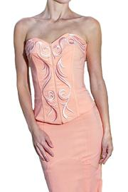 Mara Margo Peach Corset - Product Mini Image