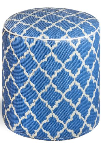 Private Label Tangier Outdoor Pouf - Main Image