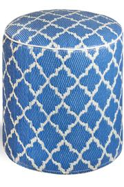 Private Label Tangier Outdoor Pouf - Front cropped