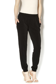 Veronica M Black Harem Pants - Product Mini Image