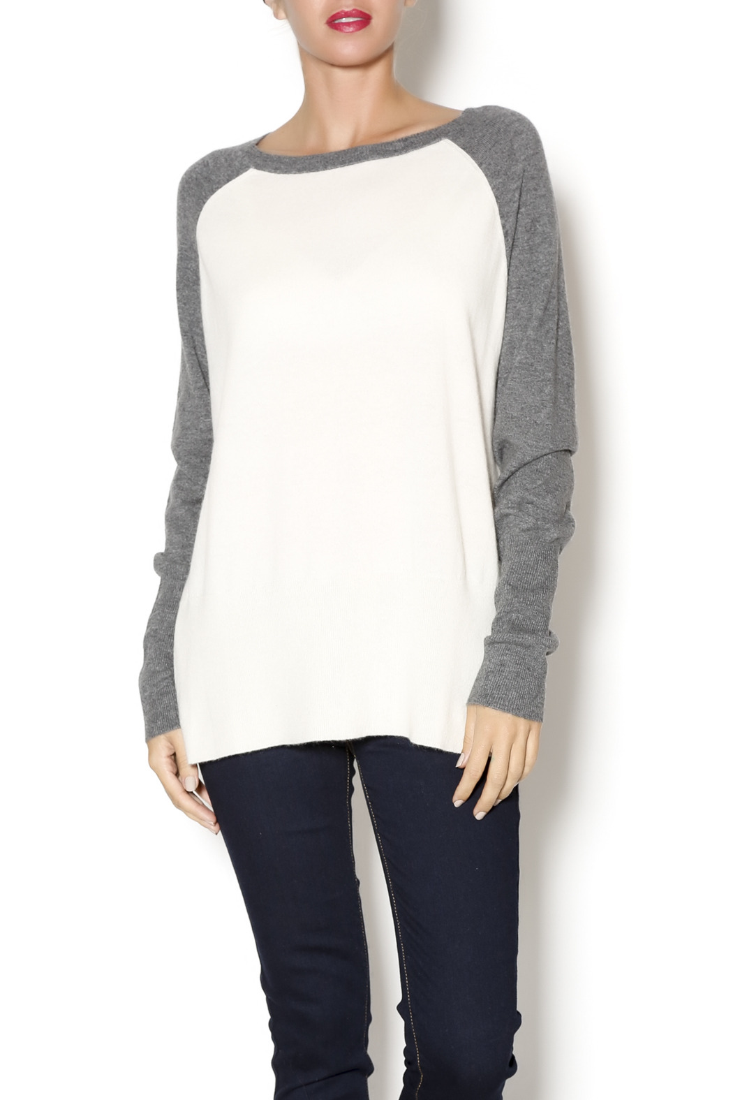 Loma Baseball Oversized Boyfriend Sweater from Amarillo by Lilly ...