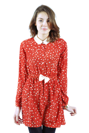 Shoptiques Product: Heart-Print Dress