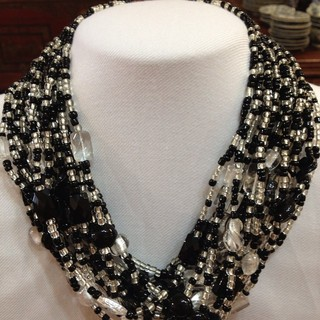 Glass beaded necklace  - Instagram Image