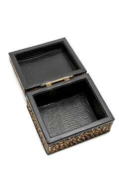 Passports Faux Leopard Box - Alternate List Image