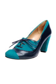 Shoptiques Product: Blue and Green Oxfords