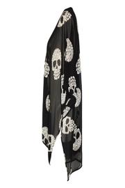 Shoptiques Product: Candy Skull Kimono - Side cropped