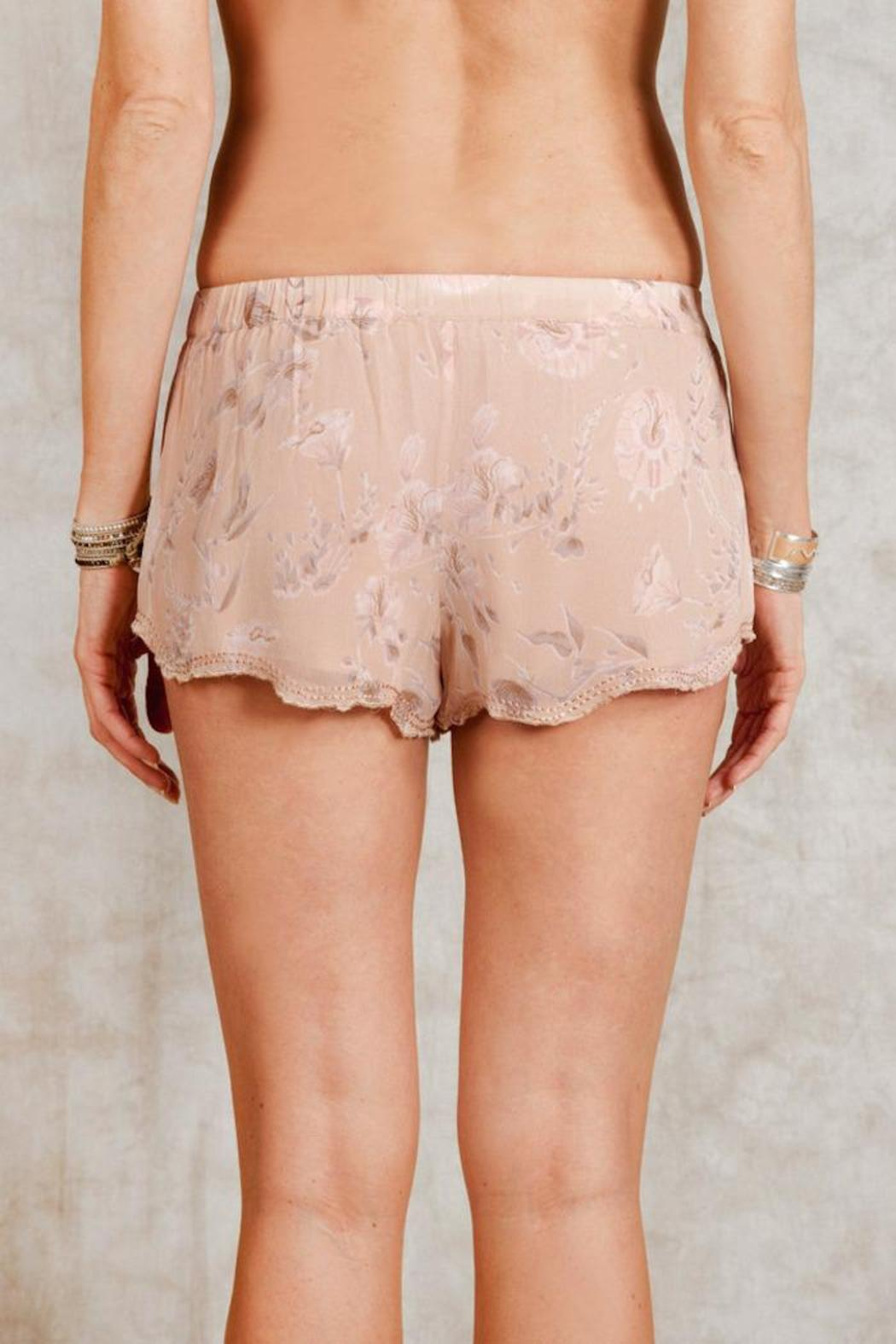 Chan Luu Moonlight Floral Shorts - Front Full Image