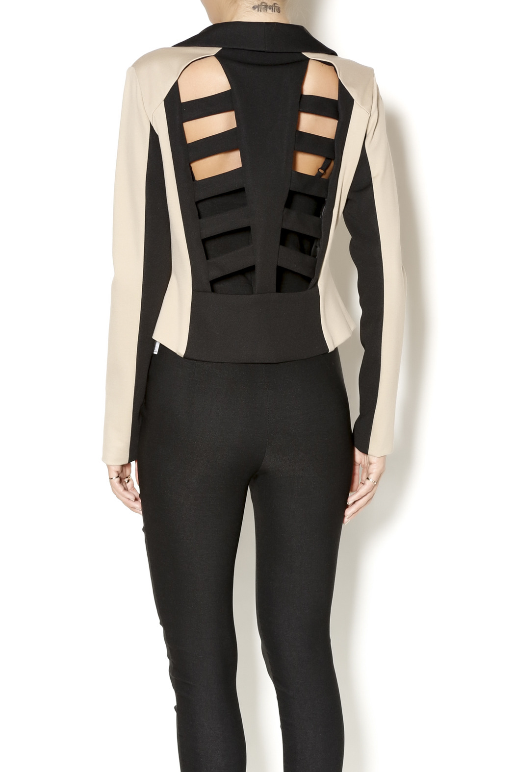 Whitney EVE Whitney Eve Cut-Out Blazer - Back Cropped Image