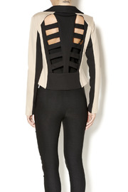 Whitney EVE Whitney Eve Cut-Out Blazer - Back cropped
